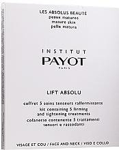 Parfums et Produits cosmétiques Payot Pro Absolute Lift - Coffret (masque hydrogel pour visage/5pcs + masque hydrogel pour cou/5pcs)