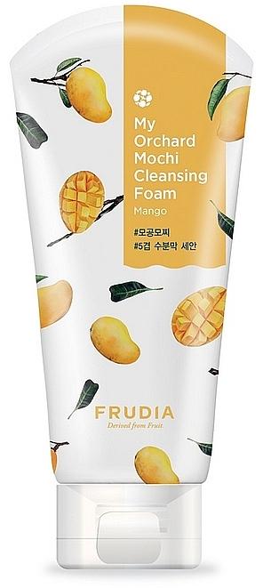 Mousse nettoyante à la mangue pour visage - Frudia My Orchard Mango Mochi Cleansing Foam — Photo N1