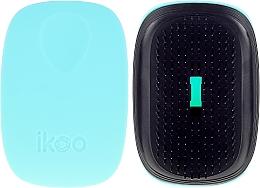 Parfums et Produits cosmétiques Brosse à cheveux compacte - Ikoo Pocket Black Ocean Breeze