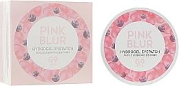Parfums et Produits cosmétiques Patchs hydrogel à l'extrait de myrtille contour des yeux - G9Skin Pink Blur Hydrogel Eyepatch