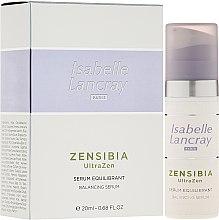 Parfums et Produits cosmétiques Sérum équilibrant à l'extrait de plantes asiatiques pour visage - Isabelle Lancray Zensibia Ultrazen Serum Equilibrant