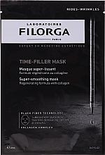 Parfums et Produits cosmétiques Masque tissu noir au collagène pour visage - Filorga Time-Filler Mask
