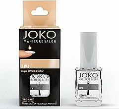 Parfums et Produits cosmétiques Revitalisant pour ongles - Joko Manicure Salon 3 in 1 Top