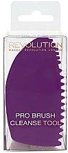 Parfums et Produits cosmétiques Outil de nettoyage des pinceaux à maquillage - Makeup Revolution Pro Brush Cleanse Tool