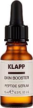 Parfums et Produits cosmétiques Booster-sérum peptidique à l'acide hyaluronique pour visage - Klapp Skin Booster Peptide Serum