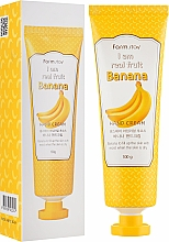 Parfums et Produits cosmétiques Crème à l'extrait de banane pour mains - FarmStay I Am Real Fruit Banana Hand Cream
