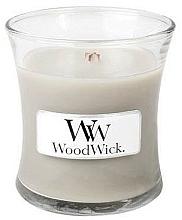Parfums et Produits cosmétiques Bougie parfumée en jarre avec mèche en bois, Laine chaude - WoodWick Warm Wool Candle