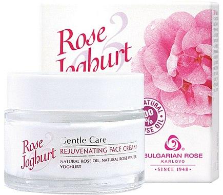 Crème à l'huile de rose et yaourt pour visage - Bulgarian Rose Rose & Joghurt Rejuvenating Face Cream — Photo N1