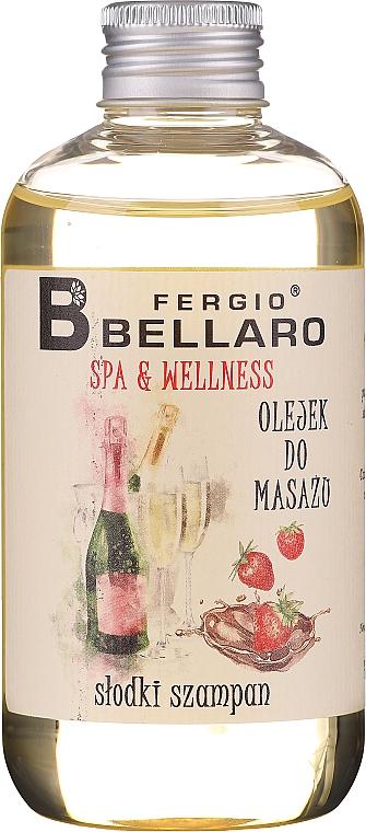 Huile de massage pour corps,Champagne - Fergio Bellaro Massage Oil Sweet Champagne