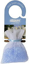 Parfums et Produits cosmétiques Perles parfumées, Lin - Airpure Scented Beads Home Collection Fresh Linen Comfort