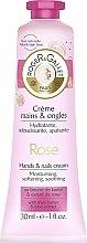 Parfums et Produits cosmétiques Crème au beurre de karité et extrait de rose pour mains et ongles - Roger & Gallet Rose Hand & Nail Cream