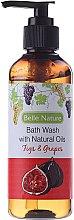 Parfums et Produits cosmétiques Gel douche naturel, raisin et figue - Belle Nature Bath Wash Figs&Grapes