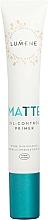 Parfums et Produits cosmétiques Base matifiante pour visage - Lumene Matte Oil-Control Primer