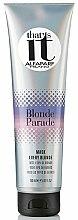 Masque aux perles pour cheveux - AlfaParf That's It Blonde Parade Mask  — Photo N1