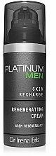 Parfums et Produits cosmétiques Crème à l'extrait d'amande douce pour visage - Dr Irena Eris Platinum Men Regenerating Cream