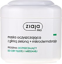 Parfums et Produits cosmétiques Masque à l'argile verte pour visage - Ziaja Pro Cleansing Mask