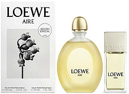 Parfums et Produits cosmétiques Loewe Aire - Coffret homme ( Eau de toilette 125ml + eau de toilette 30ml)