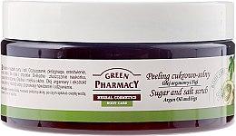 Parfums et Produits cosmétiques Gommage corporel sucré-salé à l'huile d'argan et figue - Green Pharmacy