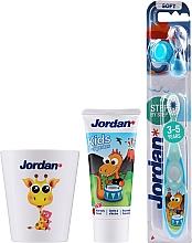 Parfums et Produits cosmétiques Jordan Kids - Set, Dragon (dentifrice/50ml + brosse à dents/1pcs + tasse)