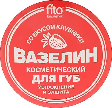 Vaseline pour lèvres, Fraise - FitoKosmetik