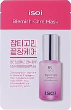 Parfums et Produits cosmétiques Masque tissu à l'huile de rose bulgare pour visage - Isoi Bulgarian Rose Blemish Care Mask