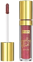Parfums et Produits cosmétiques Rouge à lèvres liquide scintillant - Pupa Sparkling Attitude Lip Fluid (Rose Gold Fever)