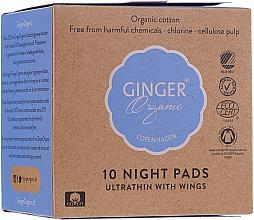 Parfums et Produits cosmétiques Serviettes hygiéniques nuit - Ginger Organic