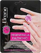 Parfums et Produits cosmétiques Masque aux huiles et céramides pour ongles - Lirene Dermo Program