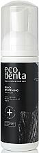 Parfums et Produits cosmétiques Bain de bouche formule moussante à l'huile essentielle de menthe - Ecodenta Black Whitening Mouthfoam