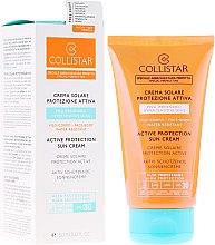 Parfums et Produits cosmétiques Crème solaire waterproof pour corps et visage - Collistar Active Protection Sun Cream SPF30 150ml