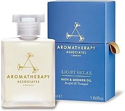 Parfums et Produits cosmétiques Huile de bain et douche à l'huile de lavande - Aromatherapy Associates Light Relax Bath & Shower Oil