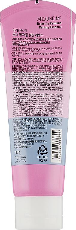 Essence à l'huile de rose musquée pour boucles - Welcos Around Me Rose Hip Perfume Curling Essence — Photo N2