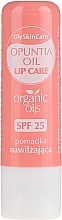 Parfums et Produits cosmétiques Baume à lèvres à l'huile de figue de barbarie bio - GlySkinCare Organic Opuntia Oil Lip Care