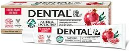 Parfums et Produits cosmétiques Dentifrice à l'extrait de grenade bio - Dental Bio Vital Natural Protection Toothpaste