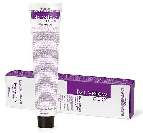 Crème colorante aux pigments anti-jaunes pour cheveux - Fanola No Yellow Color Toner
