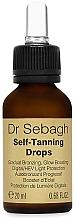 Parfums et Produits cosmétiques Gouttes autobronzantes pour visage et corps - Dr Sebagh Self-Tanning Drops