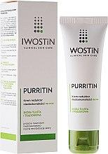 Parfums et Produits cosmétiques Crème de nuit anti-imperfections à l'acide salicylique - Iwostin Purritin Reducing Imperfections Night Cream