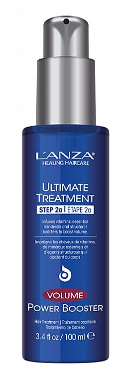 Traitement aux vitamines et minéraux pour cheveux - L'Anza Ultimate Treatment Volume Power Booster