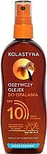 Parfums et Produits cosmétiques Huile solaire en spray waterproof de bronzage SPF 10 - Kolastyna