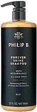 Parfums et Produits cosmétiques Shampooing à l'huile d'argan - Philip B Forever Shine Shampoo