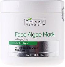 Parfums et Produits cosmétiques Masque peel-off à la spiruline pour visage - Bielenda Professional Algae Spirulina Face Mask