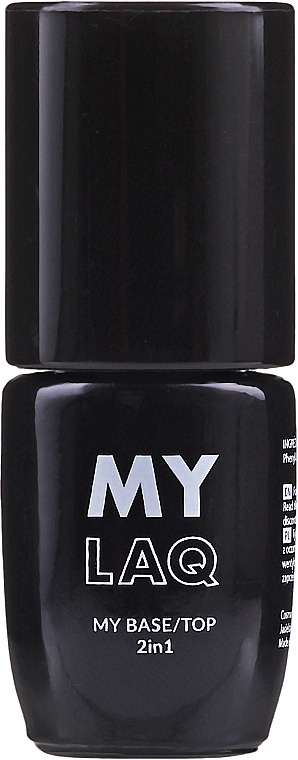 Base et top hybride pour ongles - MylaQ My Base/Top 2in1