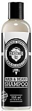 Parfums et Produits cosmétiques Shampooing pour cheveux et barbe - Beviro Men's Only Hair & Beard Shampoo