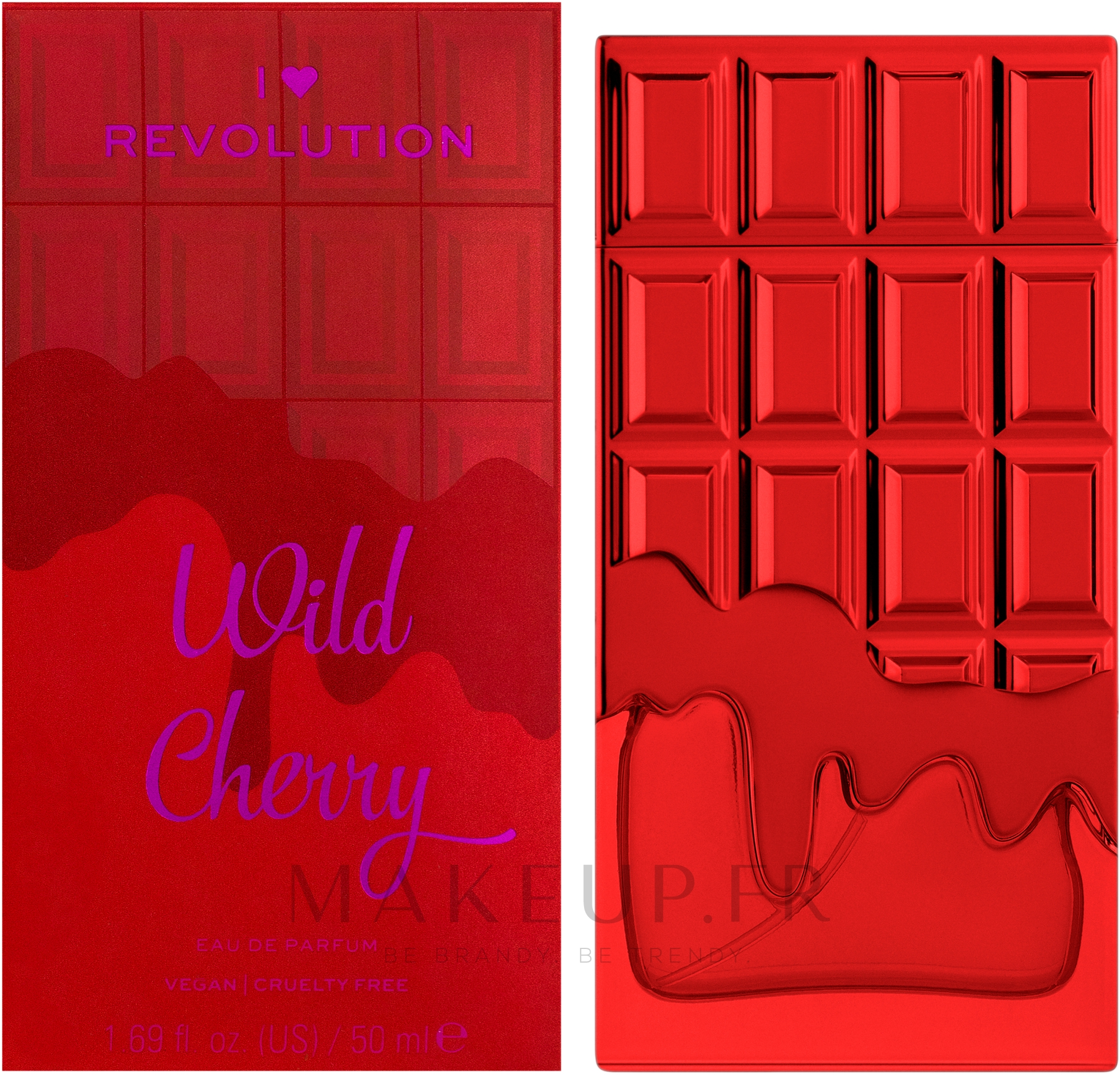 I Heart Revolution Wild Cherry - Eau de Parfum — Photo 50 ml