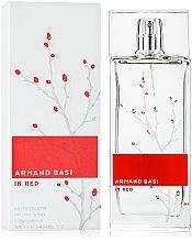 Parfums et Produits cosmétiques Armand Basi In Red - Eau de Toilette