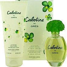 Parfums et Produits cosmétiques Gres Cabotine - Set (eau de toilette/100ml + lait parfumé pour corps/200ml)