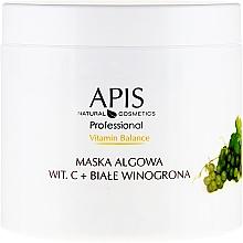 Parfums et Produits cosmétiques Masque aux algues, vitamine C et raisin - APIS Professional Vitamin-Balance Algae Mask
