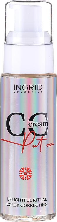 CC crème tonifiante pour visage - Ingrid Cosmetics CC Cream Put On Delightful Ritual Color Correcting
