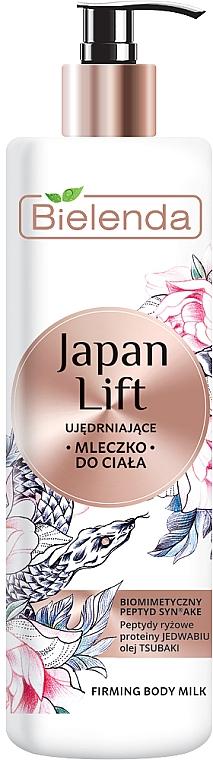 Lait raffermissant à l'huile de camélia pour corps - Bielenda Japan Lift Body Milk