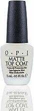 Parfums et Produits cosmétiques Top coat mat - O.P.I Matte Top Coat